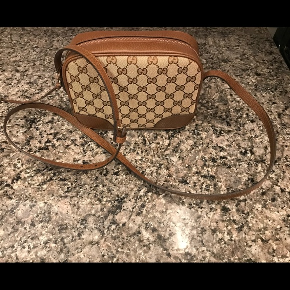 Gucci Handbags - Gucci Bree Original GG Disco Crossbody Bag